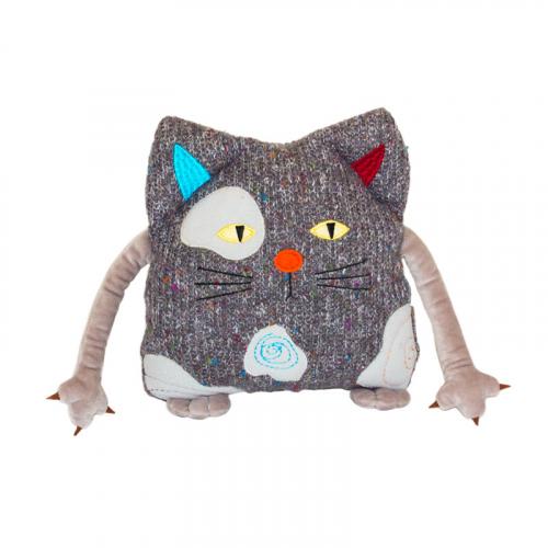 Кот Котейка 25см. подушка