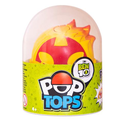 Ben 10 Фигурка поп-топ (Человек-огонь)