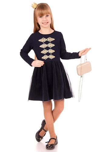 Платье #167425Темно-синий82