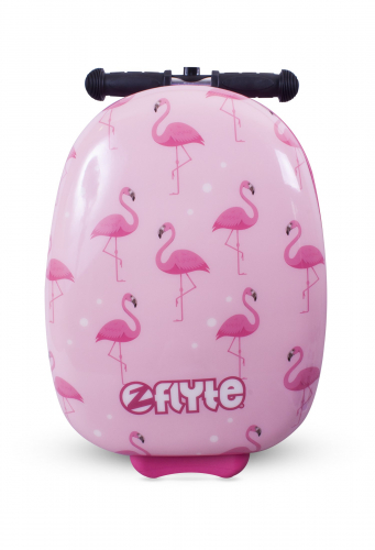 Самокат-чемодан Фламинго