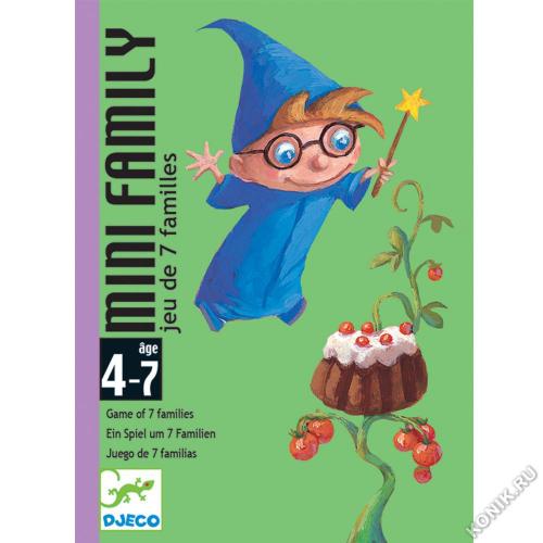 Детская наст.карт. игра Мини-семья