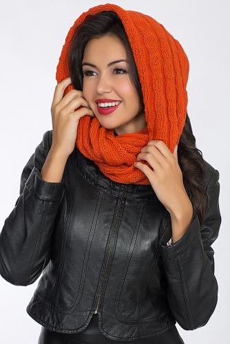 Воротник-хомут #56043Апельсиновый