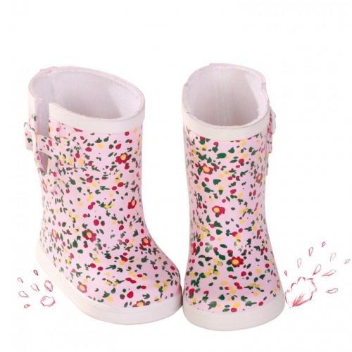 Обувь, резиновые сапоги в цветочек, 42-50 см