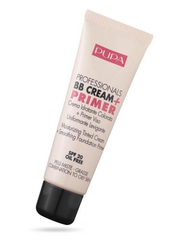 ПУПА тон.крем  Professionals BB Cream + Primer  т.02 д/пробл.кожи