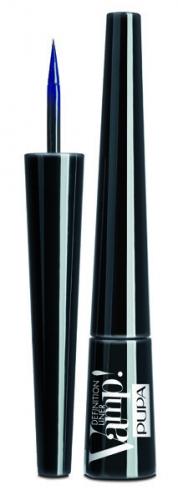 ПУПА Подводка для глаз т.300 с фетровым аппликатором  VAMP! DEFINITION LINER, глубокий синий