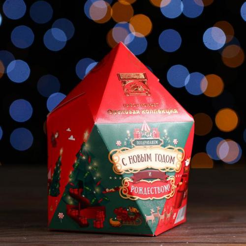 Новогодний подарок «Ореховая коллекция» кристалл 195 г