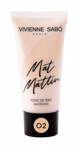 VS/ Тональный крем матирующий Mat Mattin 25 ml т.02