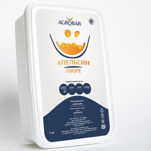 Пюре апельсин, 1 кг