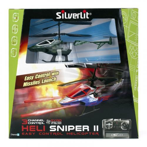 1  шт. доступно/3-х канальный вертолет Heli Sniper 2 со стрелами (зеленый)