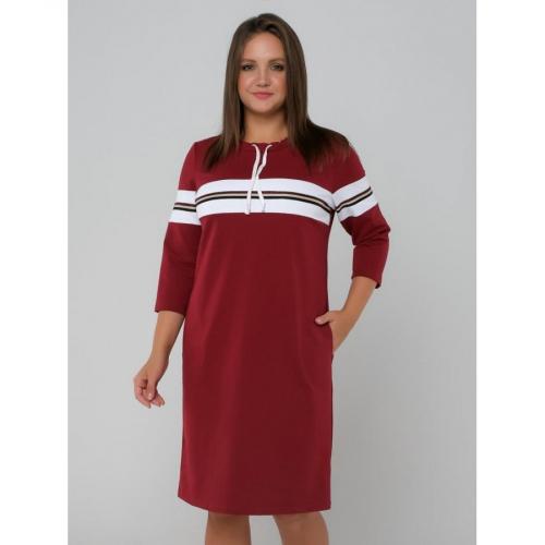 Платье женcкое красный