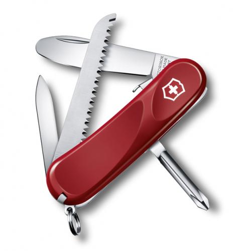 Нож Victorinox Junior 09, 85 мм, 8 функций, красный