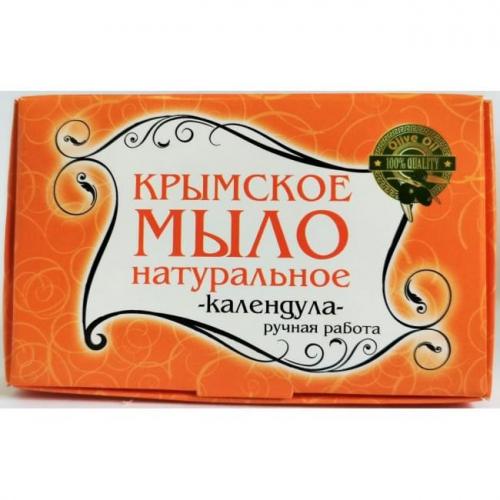 Крымское мыло большое Календула