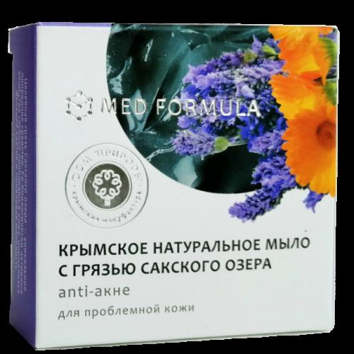 Мыло с Грязью Сакского Озера MED formula Аnti-акне 50гр ДП