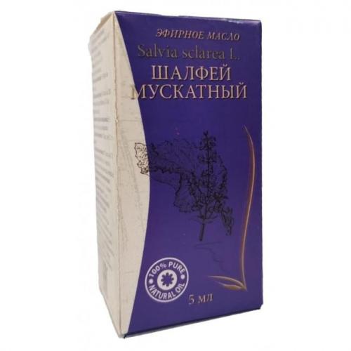 Масло эфирное ШАЛФЕЙ МУСКАТНЫЙ 5мл