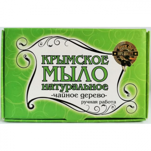 Крымское мыло большое Чайное Дерево