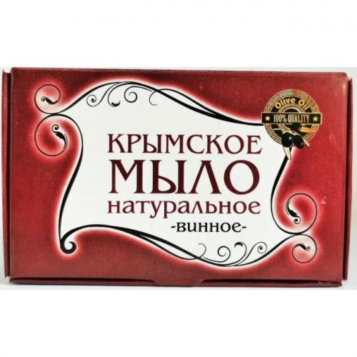 Крымское мыло большое Винное