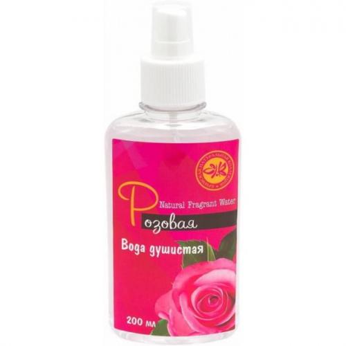 Душистая вода Розовая 200мл КНК