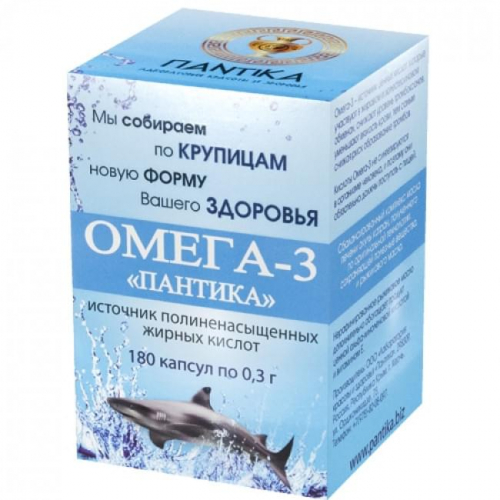 ОМЕГА-3 Пантика 180кап