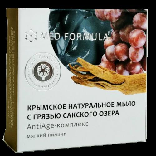 Мыло с Грязью Сакского Озера MED formula АntiАge-комплекс 50гр ДП