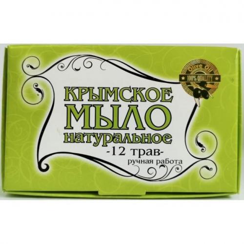 Крымское мыло большое 12 Трав