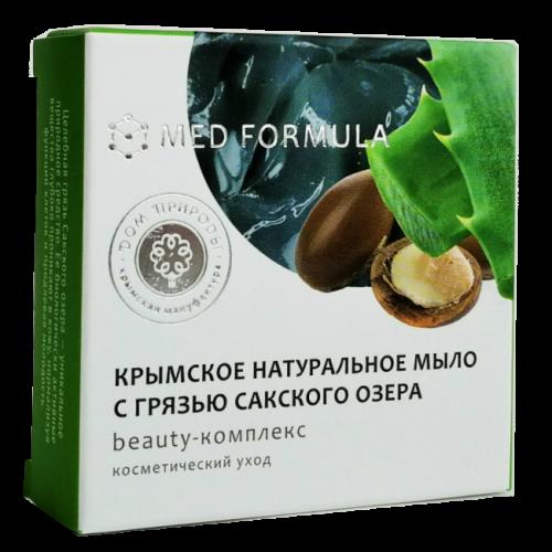 Мыло с Грязью Сакского Озера MED formula Beauty-комплекс 50гр ДП