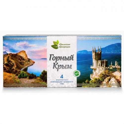 Травяной Чай Горный Крым Крымские Традиции 160гр
