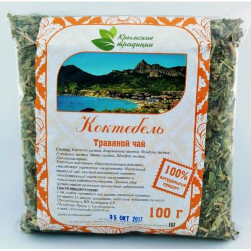 КОКТЕБЕЛЬ Травяной Чай Крымские Традиции 100гр