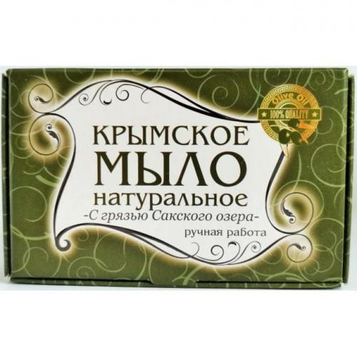 Крымское мыло большое С Грязью Сакского Озера
