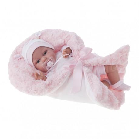 7030 Кукла Вита в роз, озвученная (детский лепет), 34 см