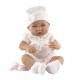 5064 Кукла-младенец Тони (девочка) в розовом, 42 см