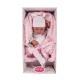 5020 кукла-младенец Ирен в розовом, 42 см