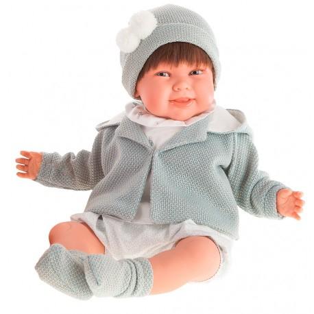 2003G Кукла Макарена в серой курточке, озвученная (мама, папа, смех), 52 см