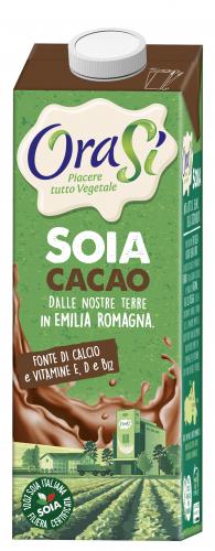 Напиток со вкусом какао OraSi Soia Cacao, обогащенный витаминами, 1л