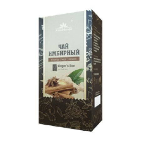Имбирный чай с корицей, медом и лимоном 30 гр