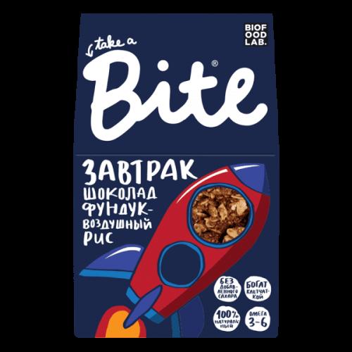 Bite. Готовый сухой завтрак мюсли