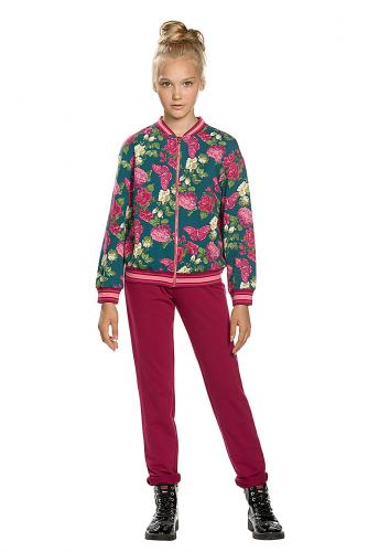 Комплект (Брюки+Куртка) #145718Изумрудный