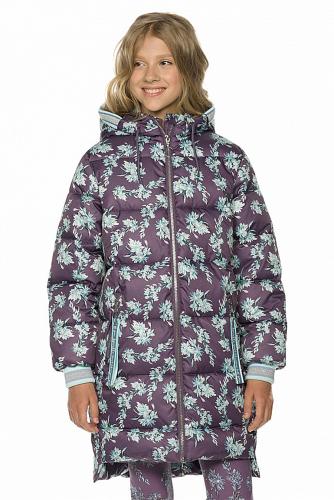 Пальто #254322Фиолетовый