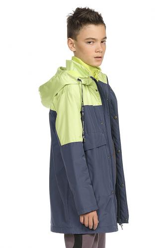 Куртка #174409Темно-серый