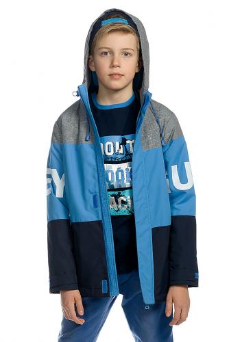 Куртка #174398Синий