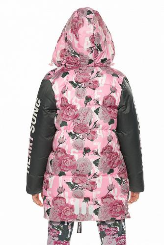 Куртка #254334Розовый