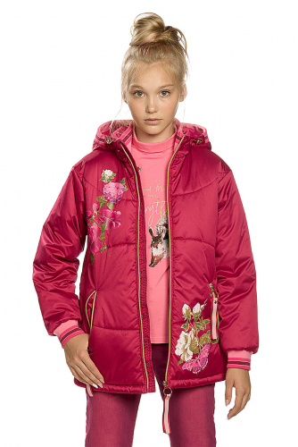 Куртка #146295Малиновый