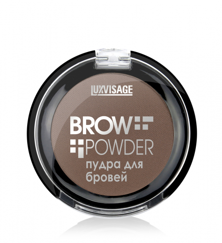 Lux visage\Пудра д/бровей LUX visage Brow powder 1,7г № 04 Taupe