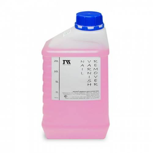 Жидкость для снятия лака / NAIL VARNISH REMOVER, 1 л