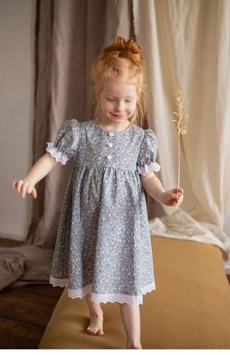 платье для девочки МТ19-2 Незабудка