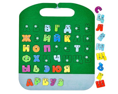 Коврик-игралка в дорогу Забавные буквы