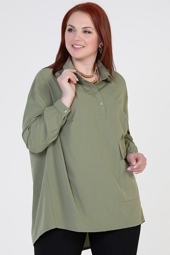 Блуза #214353Хаки