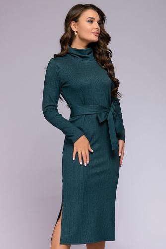 Платье #302289Изумрудный