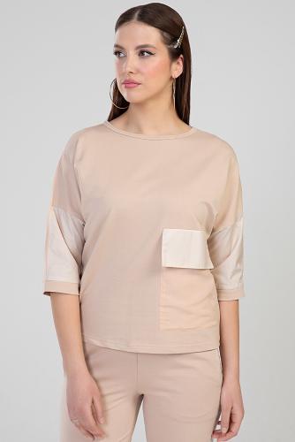 Блуза #286987Мокко