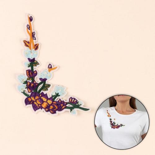 Термоаппликация «Цветы», 12,5 × 16 см