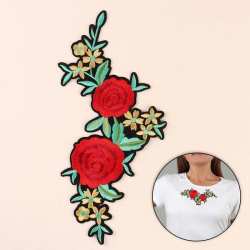 Термоаппликация «Цветы», 18 × 13 см
